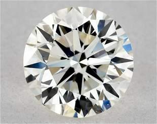 IGI Certified 0.81 Ct H VS2 Round Brilliant Diamond