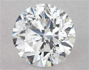 IGI Certified 094 Ct E SI2 Round Brilliant Diamond