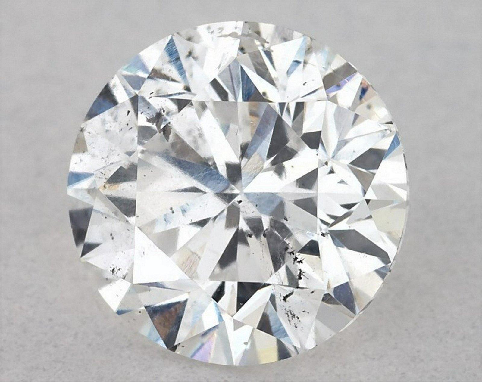 IGI Certified 0.94 Ct E SI2 Round Brilliant Diamond