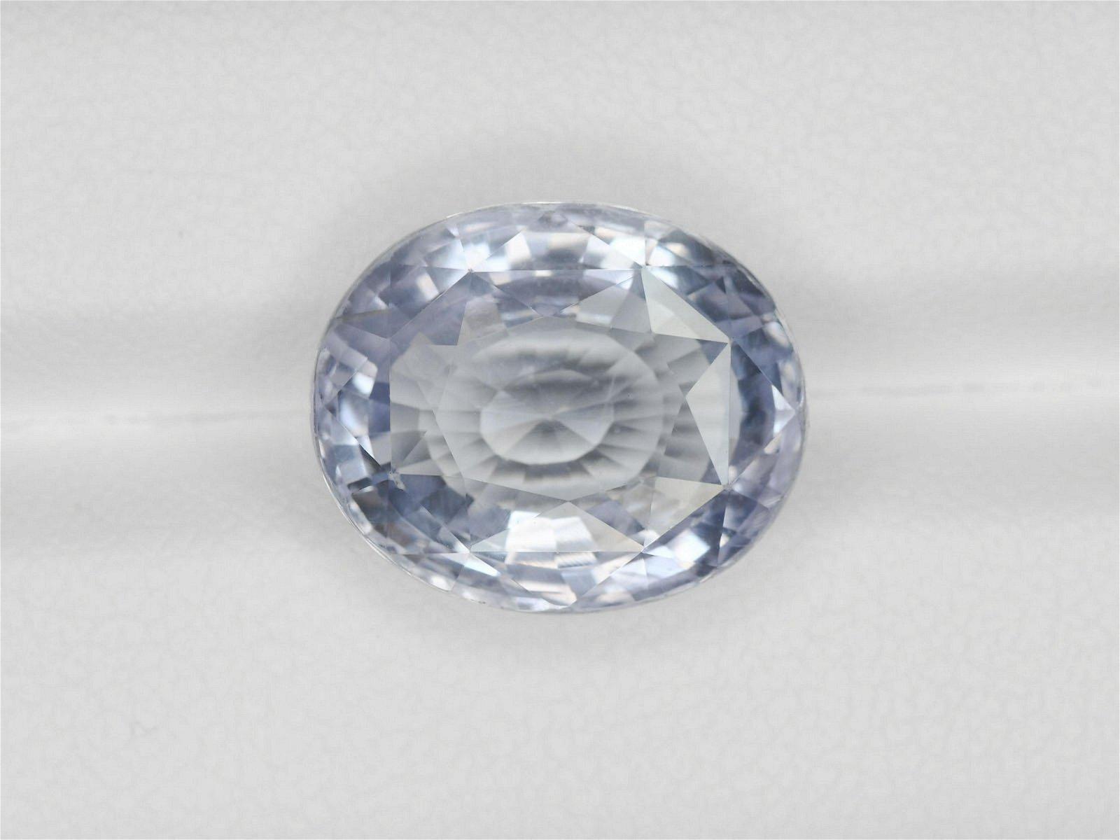 Blue Sapphire, 11.93ct, Mined in Sri Lanka, Certified