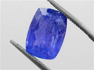 Tanzanite 525 ct Very Rare Certified IGI
