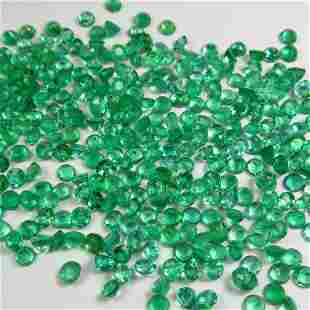 1000 Ct Genuine 154 Emerald Calibrate 25 mm Round Lot