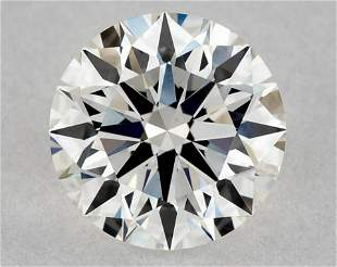 IGI Certified 0.55 Ct G VVS2 Round Brilliant Diamond