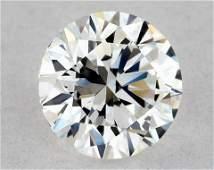 IGI Certified 0.51 Ct F VVS2 Round Brilliant Diamond