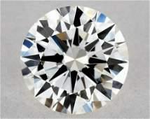 IGI Certified 0.62 Ct H VVS2 Round Brilliant Diamond