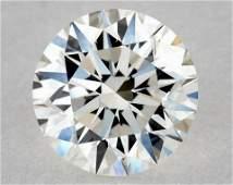 IGI Certified 0.35 Ct F VVS1 Round Brilliant Diamond