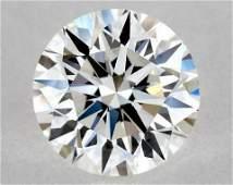 IGI Certified 0.50 Ct E VVS2 Round Brilliant Diamond