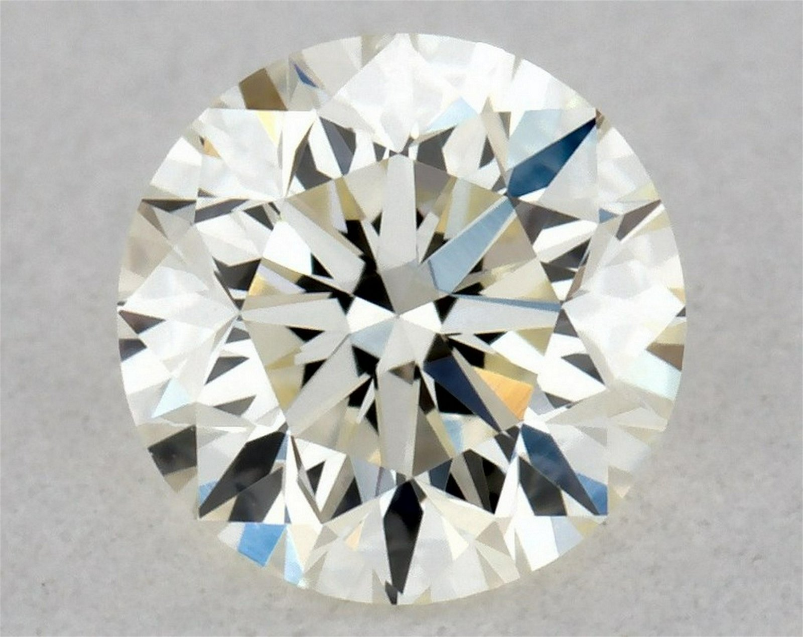 IGI Certified 0.30 Ct K IF Round Brilliant Diamond