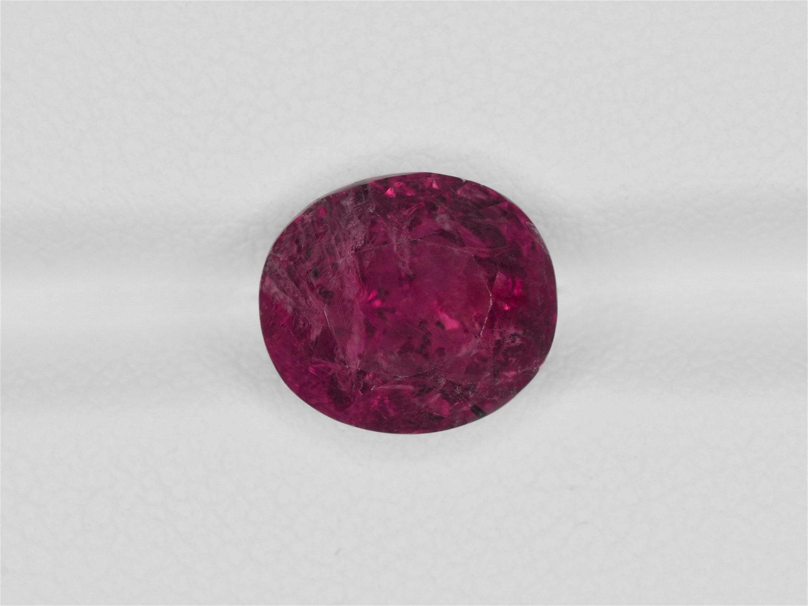 Fancy Sapphire, 5.47ct, Mined in Burma, Certified by