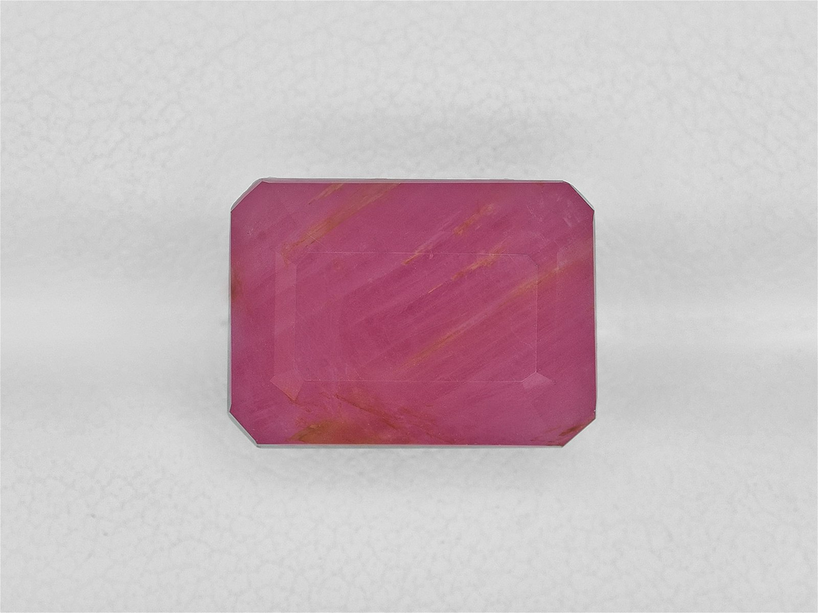 Ruby, 13.33ct, Mined in Guinea, Certified by IGI