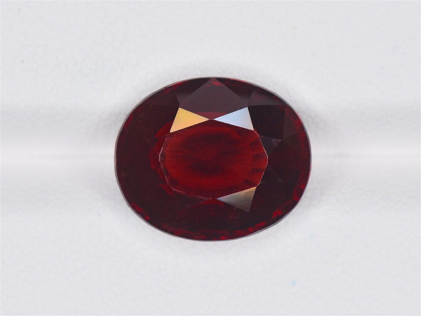 Hessonite Garnet, 7.51ct, Mined in Sri Lanka, Certified