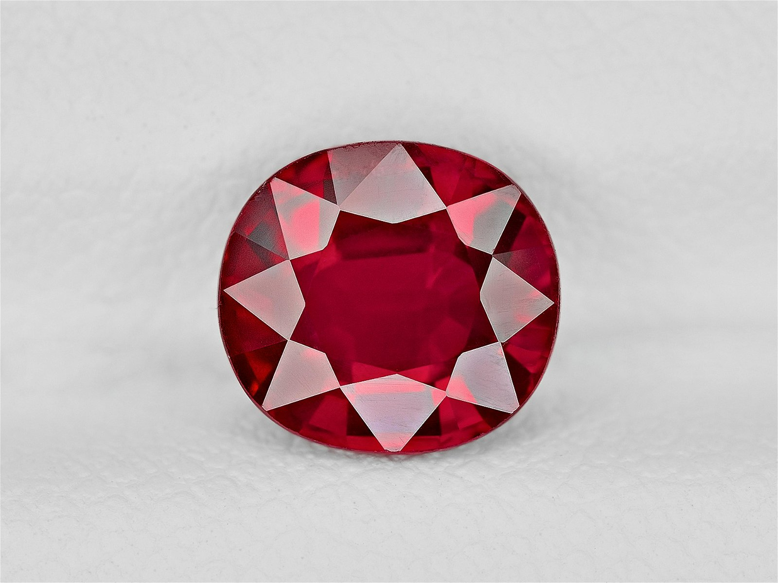 Ruby, 2.04ct, Mined in Mozambique, Certified by GRS