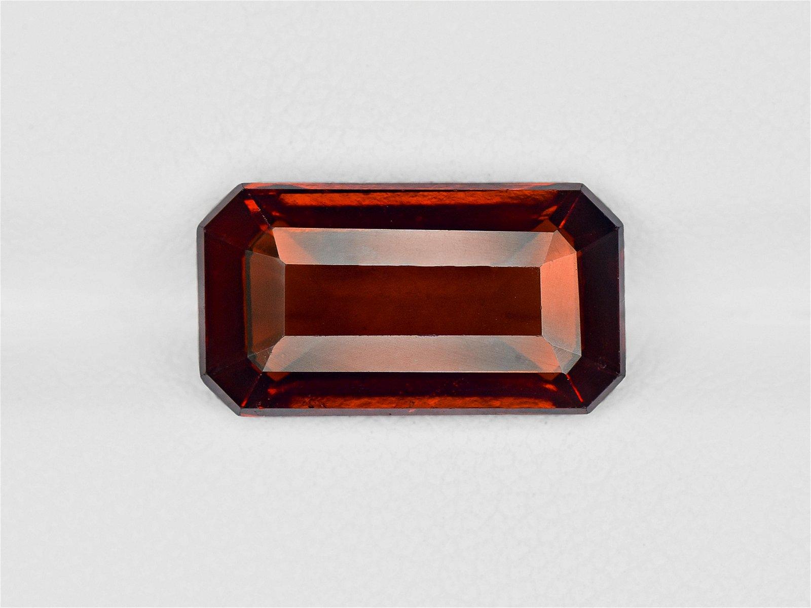 Hessonite Garnet, 6.54ct, Mined in Sri Lanka, Certified