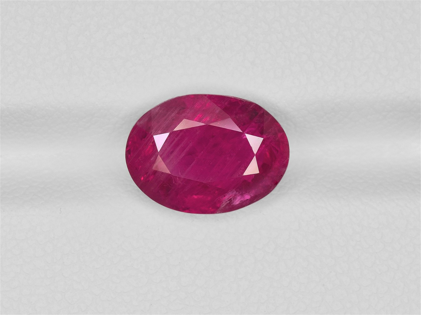 Ruby, 4.57ct, Mined in Burma, Certified by GRS