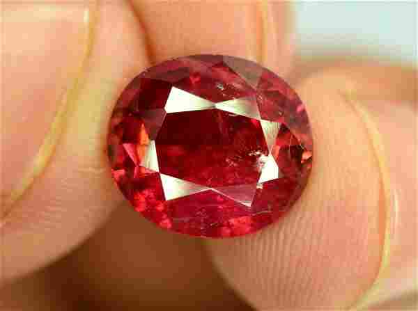 3.70 cts Untreated Rubelite Tourmaline Gemstone from
