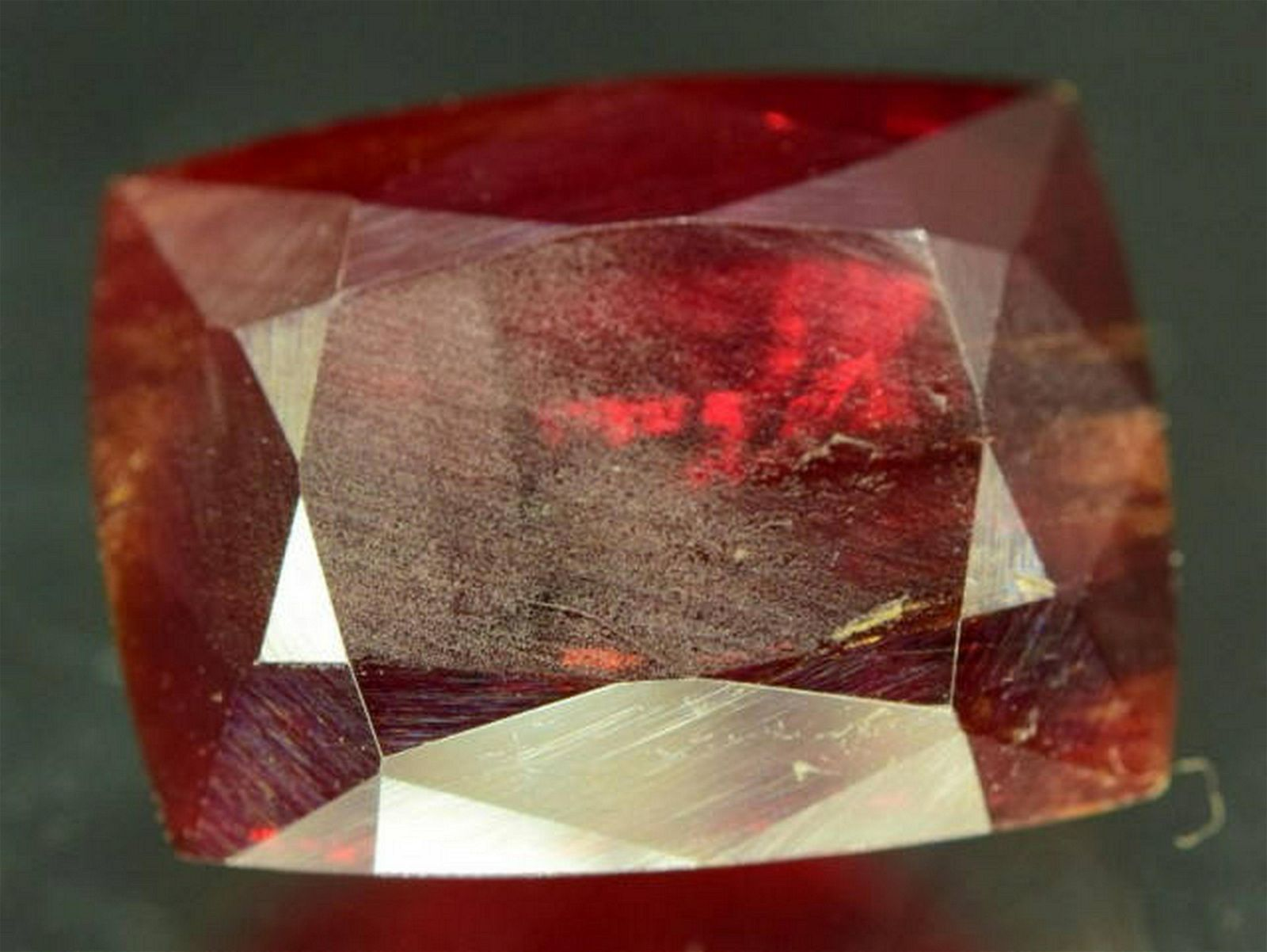 19.35 ct Natural Extremely Rare Gemstone Tantalite from