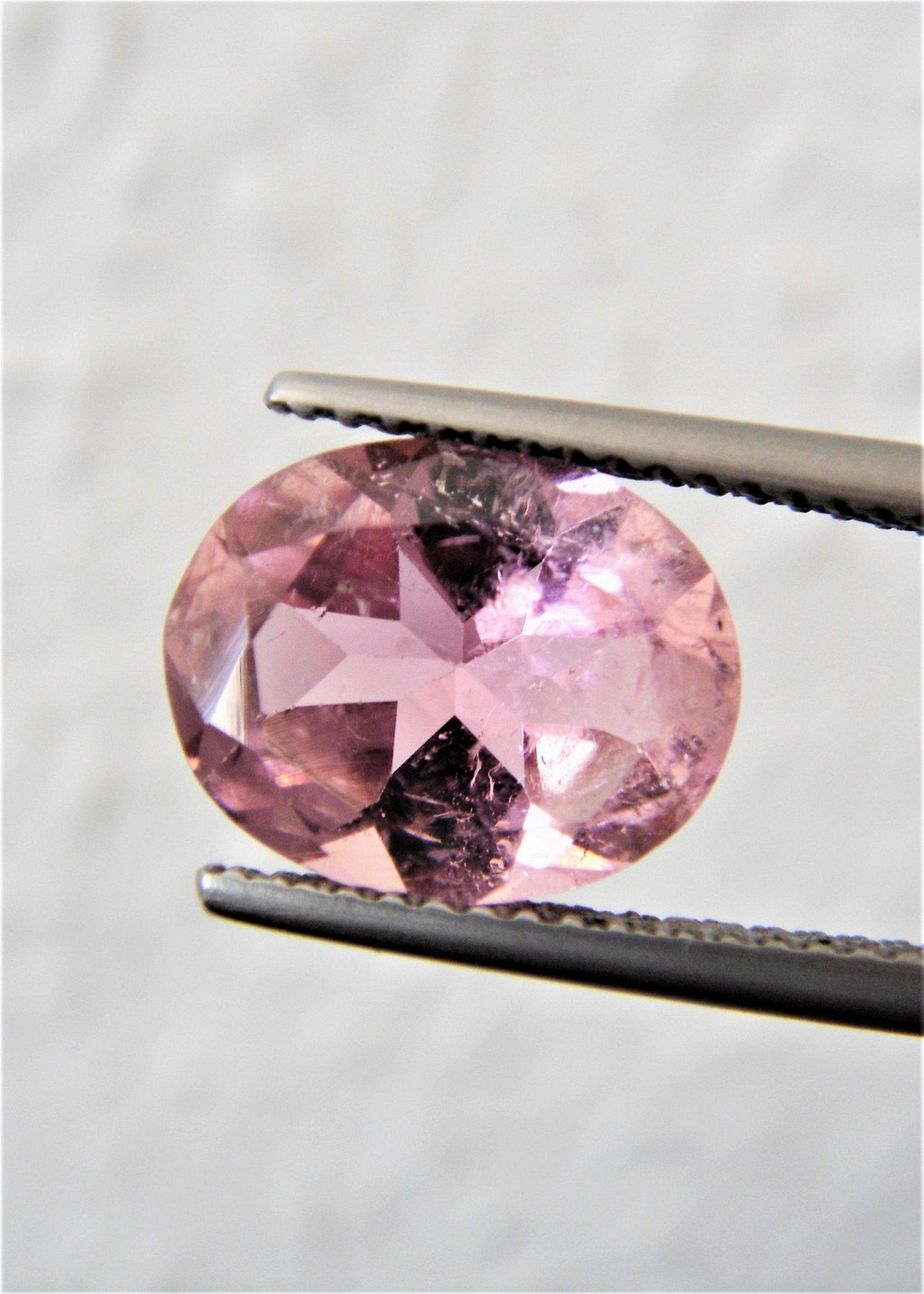 Baby Pink Tourmaline - 2.95 ct