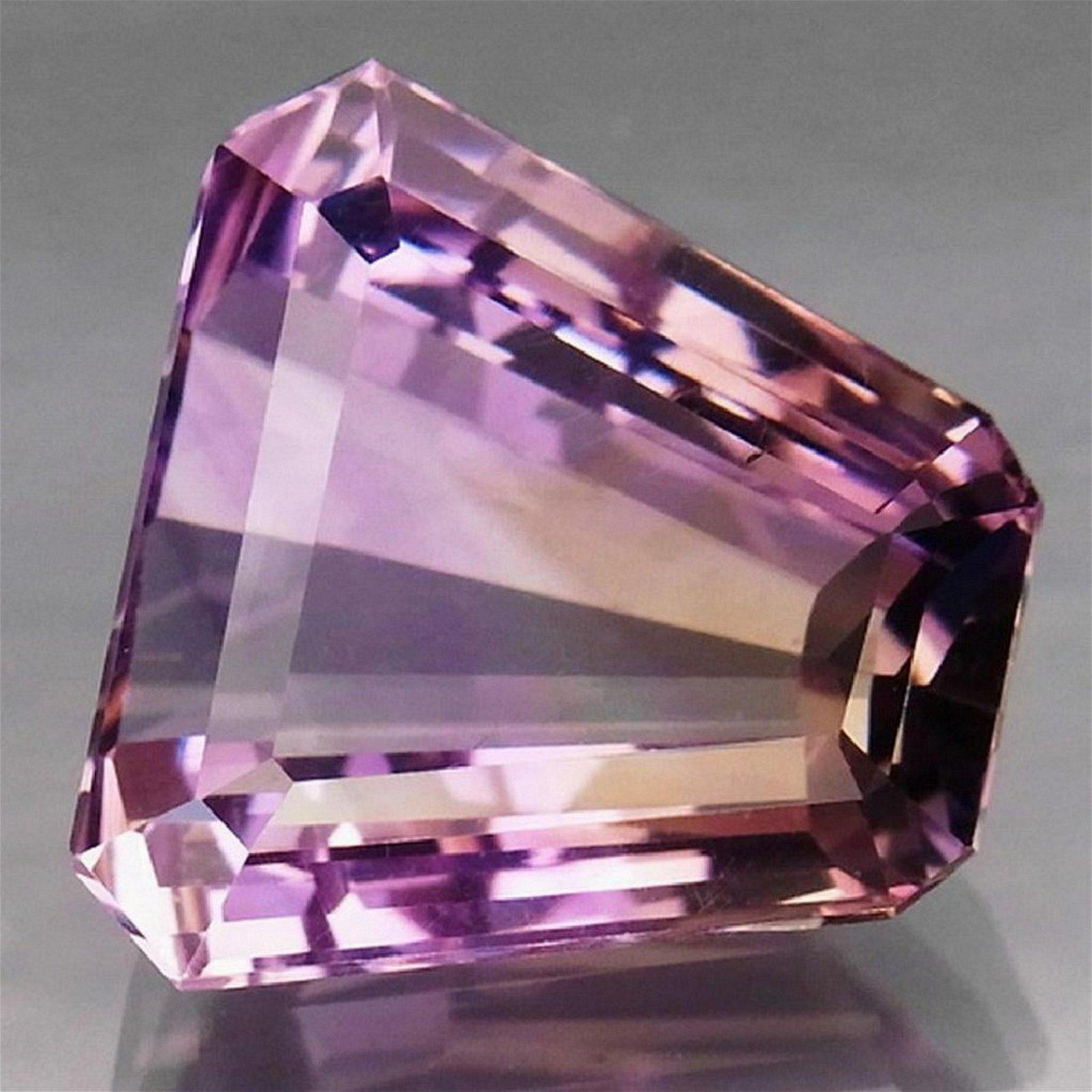 20,81ct Natural Bi Color Ametrine