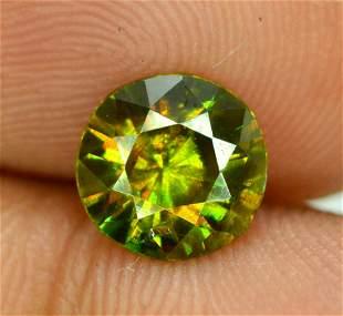 125 carats Full Fire Natural Chrome Sphene Titanite