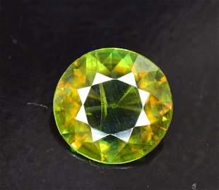 130 cts Rare Extreme Full Fire Green Sphene Titanite