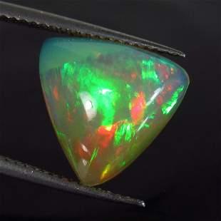 384 Ctw Natural Ethiopian MultiColor Fire Opal