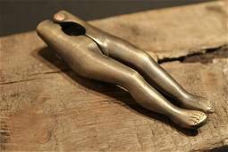Brass Lady Legs Nut Cracker