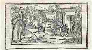 1498 Leaf Woodcuts Carminum Gruninger