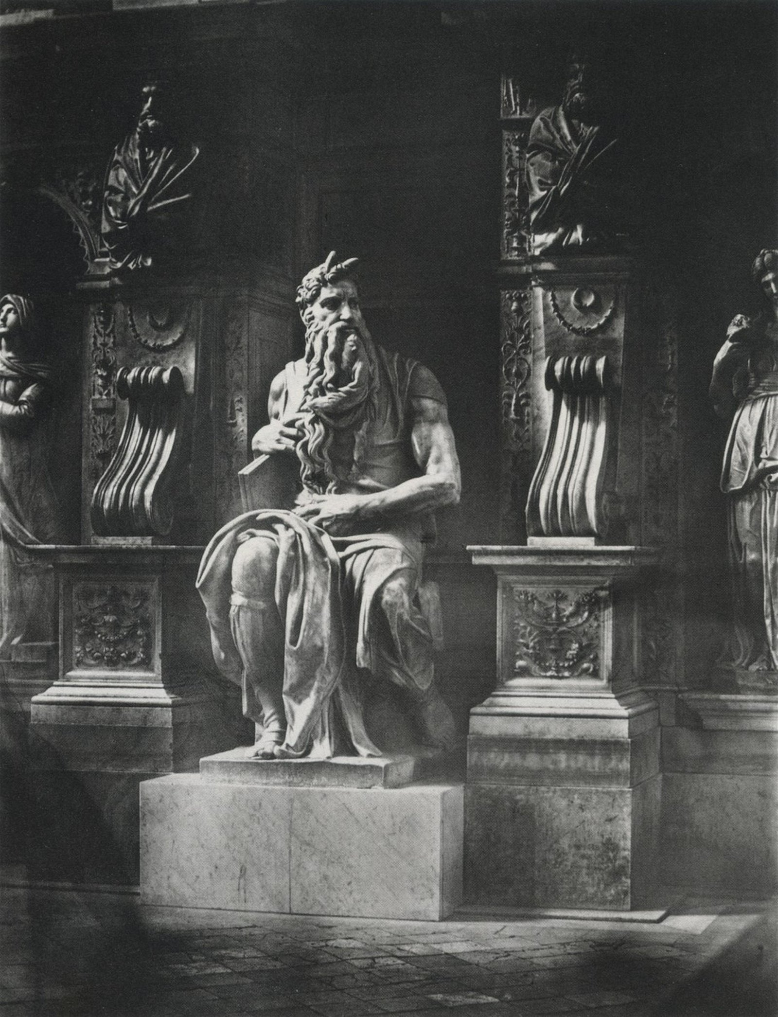 JAMES ANDERSON - Michelangelo's Moses, 1850s
