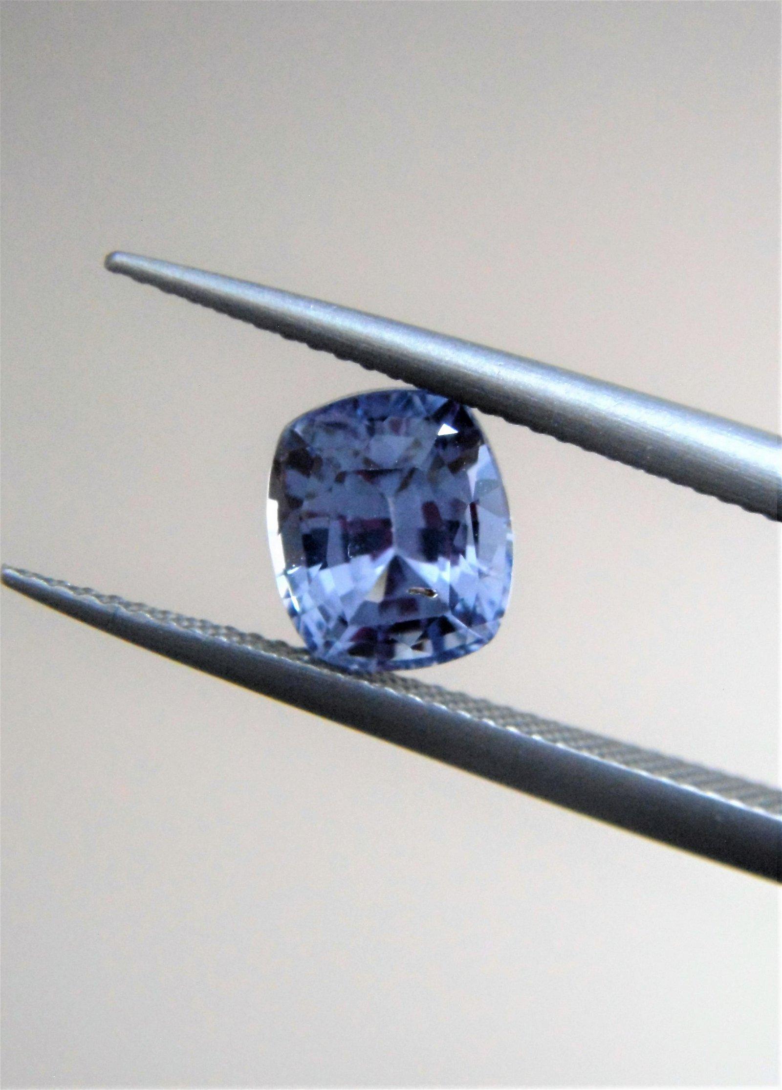 Blue Sapphire No Heat Certified - 1.11 ct