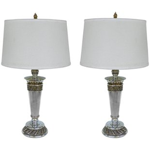 Pleasing Pepe Mendoza Pair Of Free Form Table Lamps May 19 2013 Home Interior And Landscaping Mentranervesignezvosmurscom