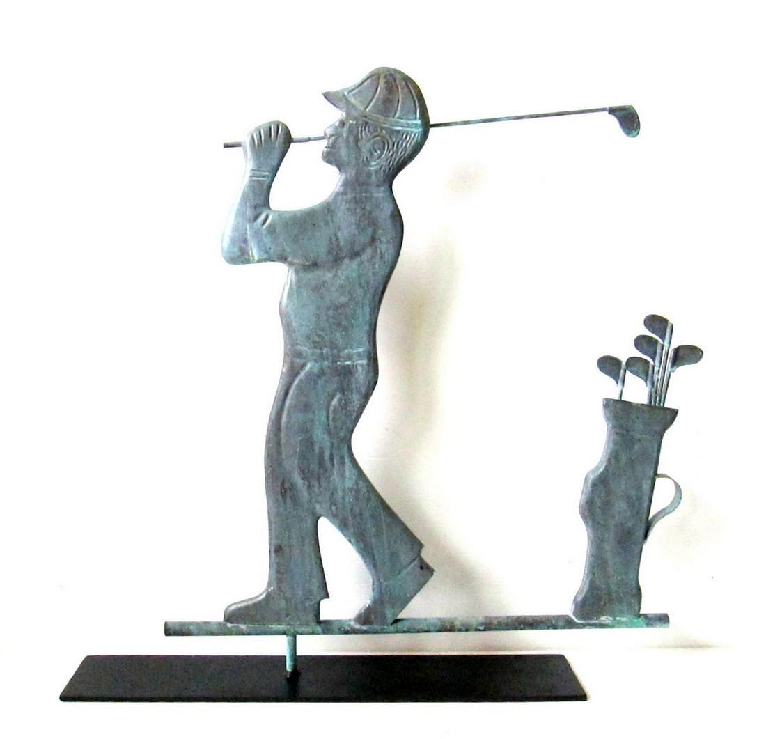 Vintage Golfer Vane