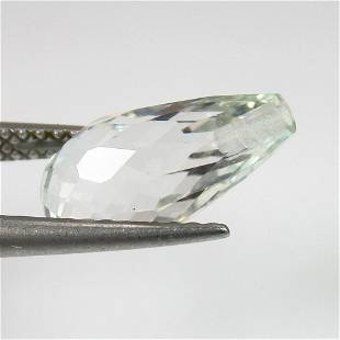 402 Ct Genuine White Topaz 125X65 mm Pear Drop