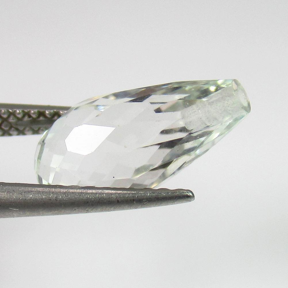 4.02 Ct Genuine White Topaz 12.5X6.5 mm Pear Drop