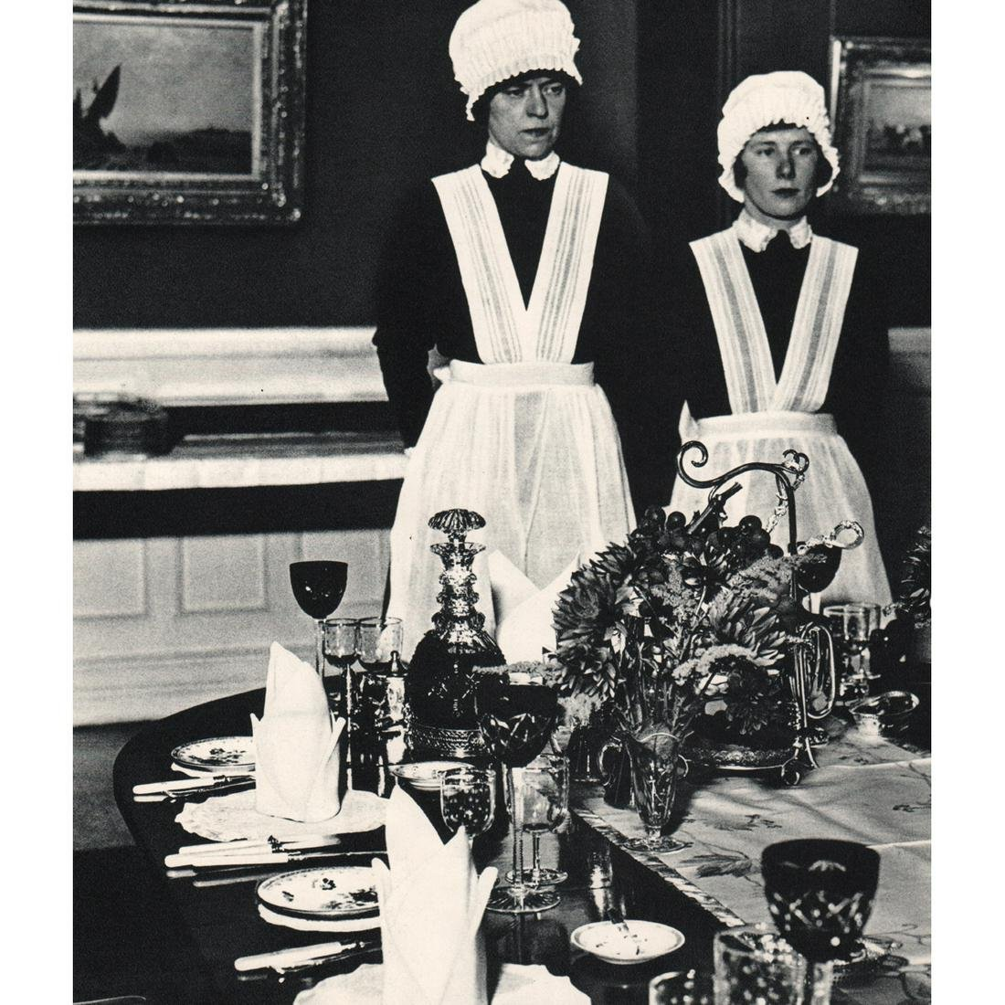 BILL BRANDT - Parlourmaid and Under-parlourmaid