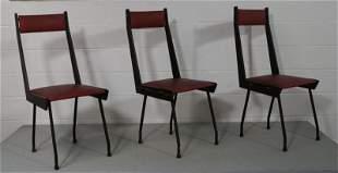 3 Italian 1950 Dining Chairs