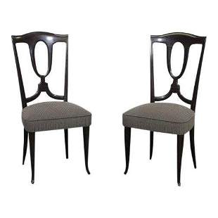 Pair 50s Italian Side Chairs