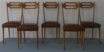 5 Italian Dining Chairs