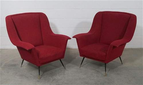 Pair of Italian Arm Chairs