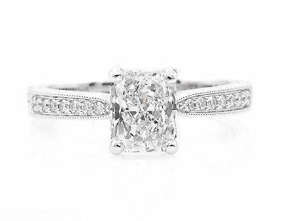 GIA SHY 2.00ct Estate Vintage Radiant Diamond