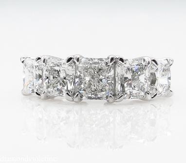 GIA 3.16ct Estate Vintage Radiant Diamond Engagement