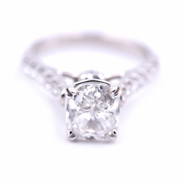18k White Gold 1.97ct Diamond Engagement Ring