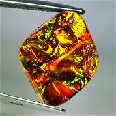 602 ct Mexican Fire Opal Doublet