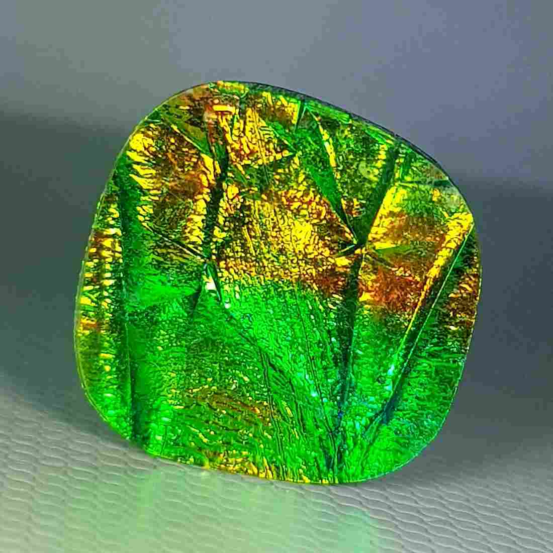 6.64 ct Mexican Fire Opal Doublet