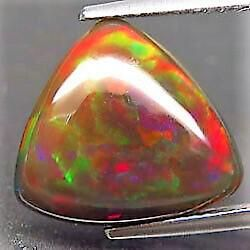 4,86 ct Natural Rainbow Black Opal