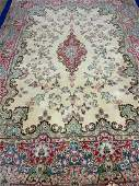 Semi Antique Hand Woven Persian Kermen 124x811