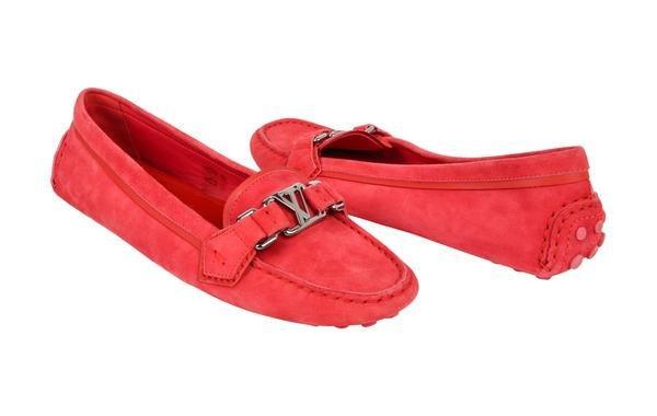 Louis Vuitton Shoe Pink Raspberry Suede