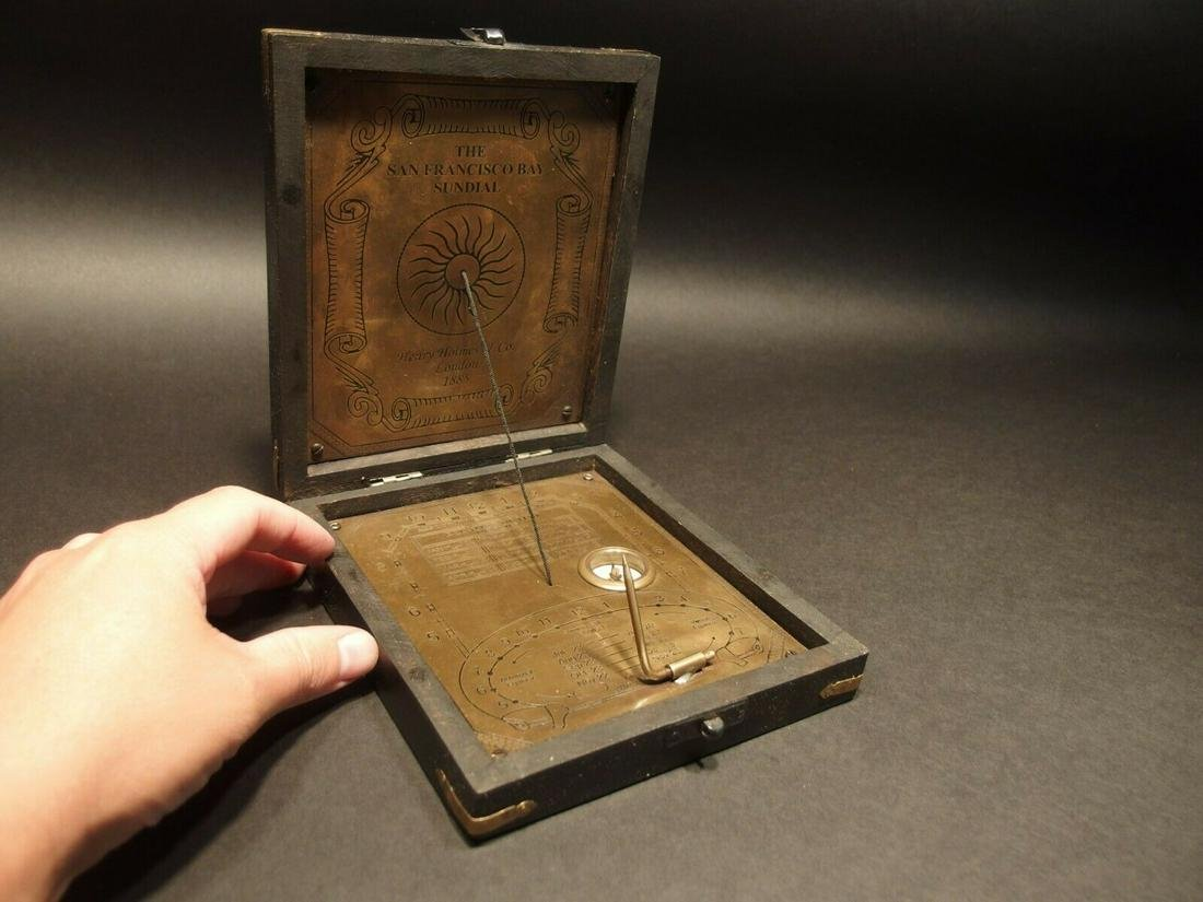 Sundial Compass Instrument Henry Holmes 1885