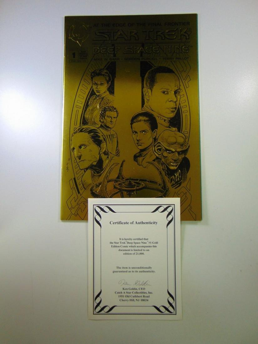 Star Trek Deep Space Nine # 1 Gold Edition