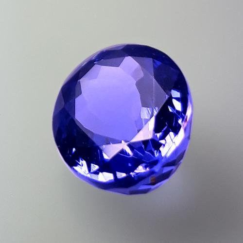 3.00 Cts Natural Purple Blue D-Block Tanzanite