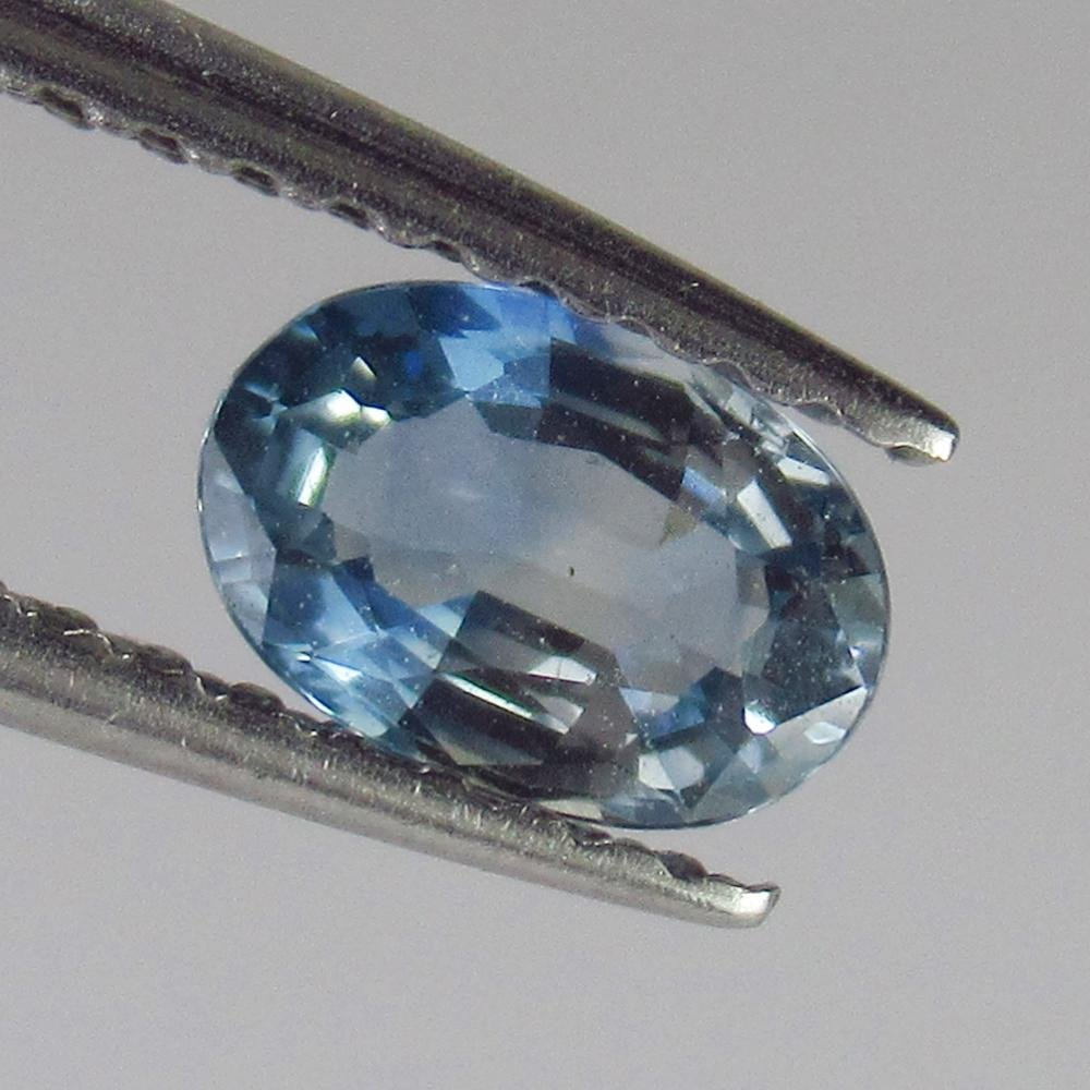 0.57 Ctw Natural Blue Sapphire Oval Cut